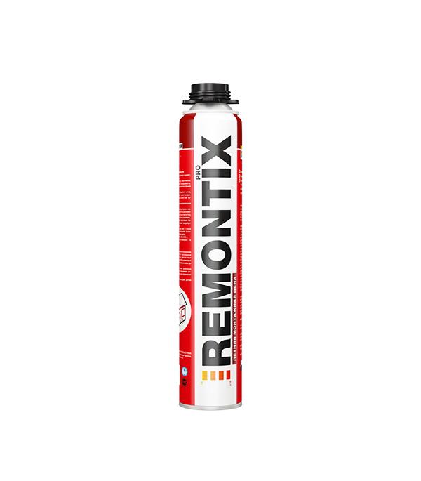 Пена монтажная Remontix Pro профессиональная 750 мл монтажная пена летняя makroflex shaketec 65 pro 850мл