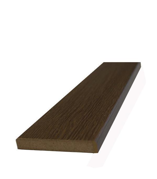 Доборная планка экошпон Шоколадный орех 120х2100х8 мм