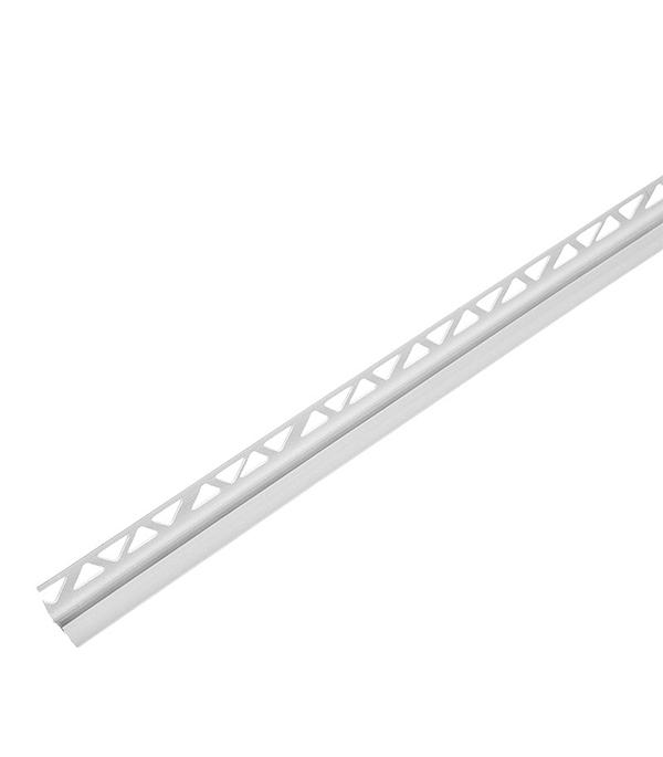 Уголок для кафельной плитки внутренний 9 мм 2,5м серый