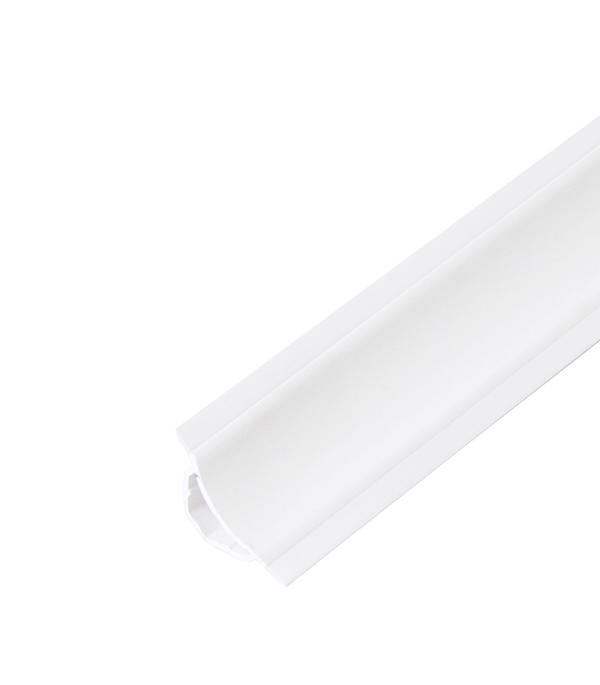 Галтель с мягкими краями 25х25 мм 2,5 м белый