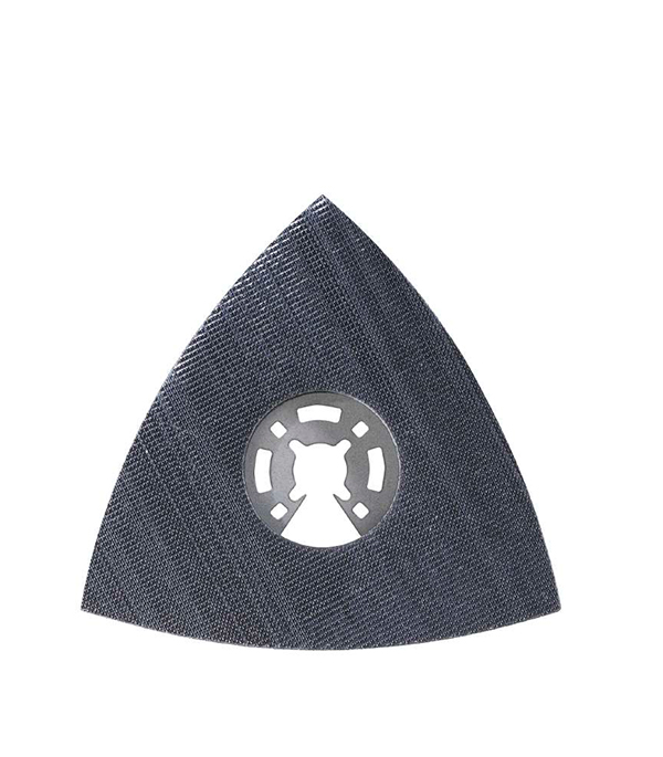 Шлифпластина треугольная KWB Стандарт для МФУ пильное полотно для мфу по металлу 87 мм kwb стандарт