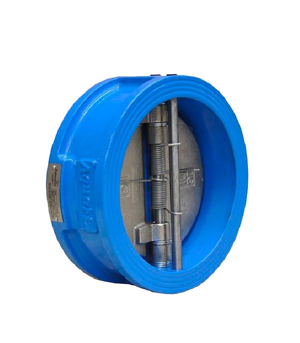 Клапан обратный межфланцевый AquaFix PN16 Ду50 серый чугун клапан обратный фланцевый ф300 pn16 модель 895 danfoss в оскве