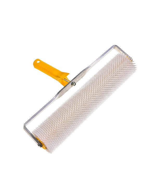 Валик игольчатый 400 мм игла 20 мм с рукояткой валик велюровый hardy 150 мм с рукояткой