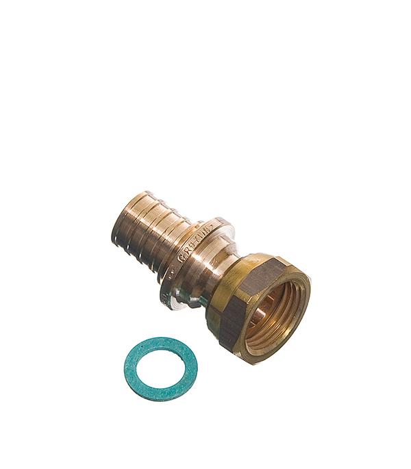 Соединитель прямой с накидной гайкой Rehau RX 20 х 1/2 внутр(г) угол rehau rx 16 х 1 2 внутр г