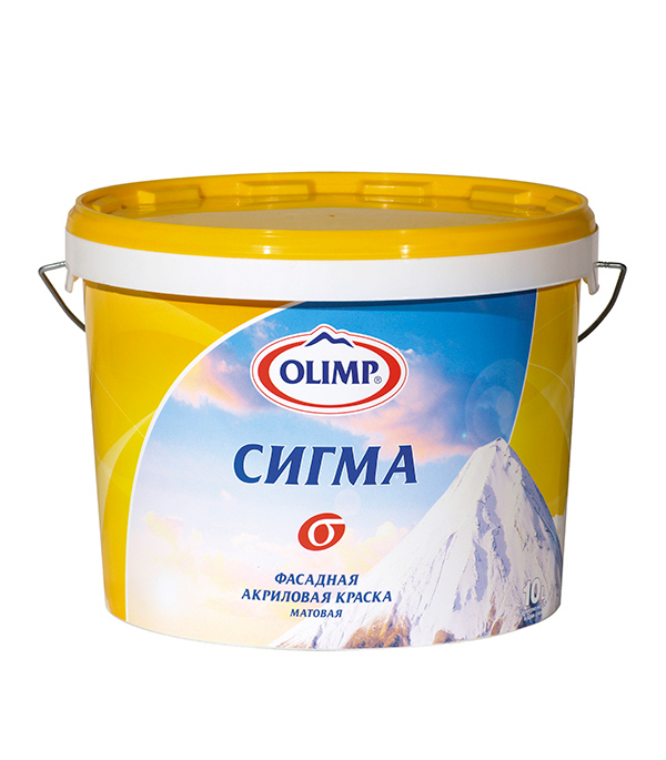 Краска в/д фасадная Сигма  Olimp 2,5 л