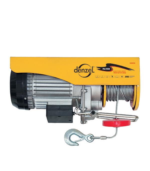 Тельфер электрический Denzel 500 Вт 250 кг тельфер электрический einhell 1050 вт 600 кг
