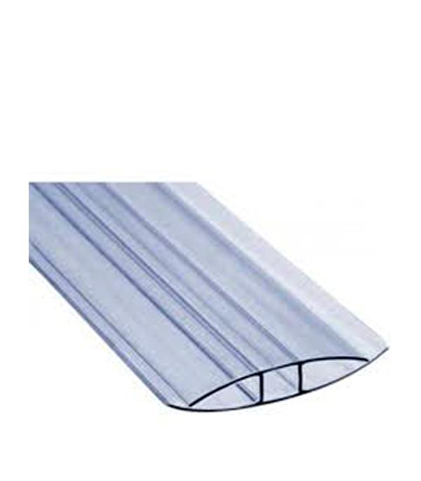 где купить  Профиль для поликарбоната соединительный Н-образный 4 мм 6000 мм  по лучшей цене