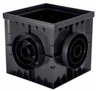 Дождеприемник, 300х300 мм, пластиковый Гидролика