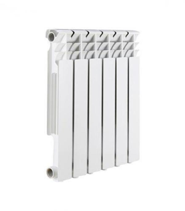 Радиатор биметаллический Rommer  Optima 1 500/78,  6  секций, шт. радиатор отопления rommer optima bm 500 биметаллический 8 секций