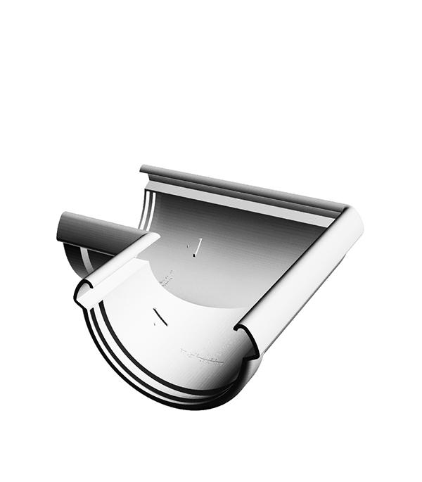 Угол желоба пластиковый 90° универсальный пломбир, DOCKE LUX заглушка желоба пластиковая универсальная пломбир docke lux