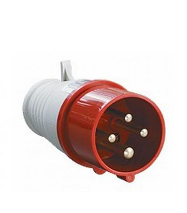 Вилка кабельная IEK 400В 3P+E 32А IP44 контактор пм12 025100 400в iek kkp 025 400 10 278185