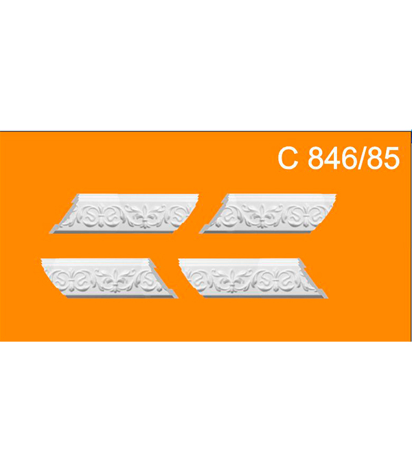 Уголки универсальные из пенополистирола C846/85  Solid  (упак. 4 комп.)