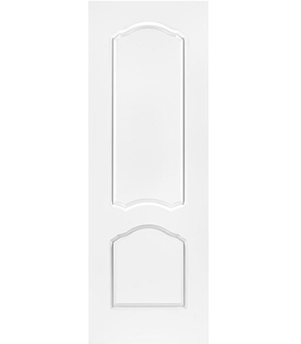 Дверное полотно белое глухое эмалевое Арктика 700х2000 мм