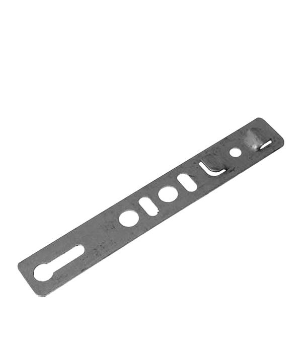 Анкерная пластина 190х25х1,2 мм (10 шт.) неповоротная для профиля Rehau