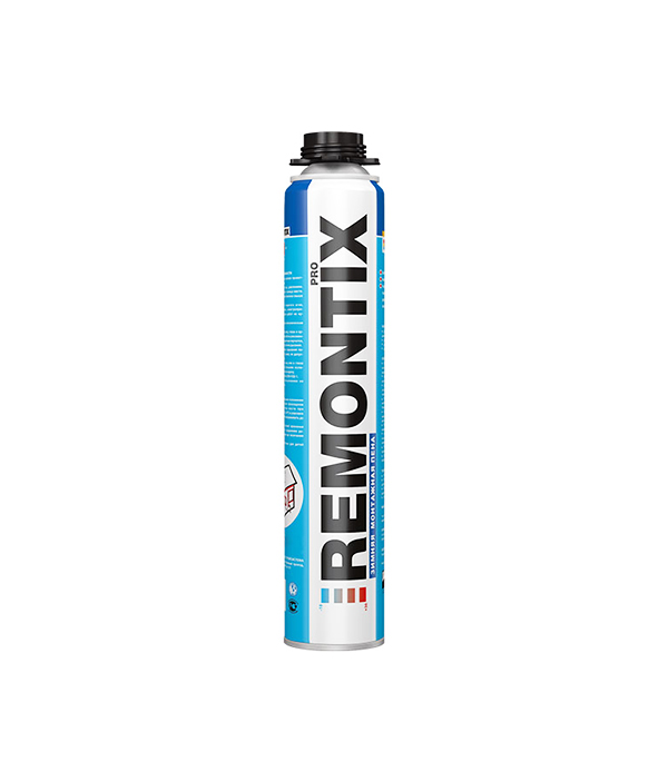 Пена монтажная Remontix Pro профессиональная зимняя 750 мл монтажная пена летняя makroflex shaketec 65 pro 850мл
