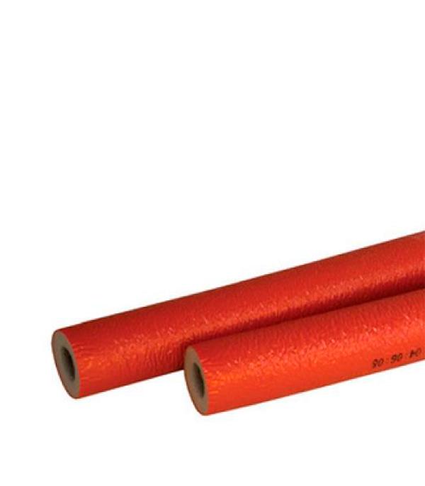 Теплоизоляция для труб 28х4 мм красная (бухта 11 м)