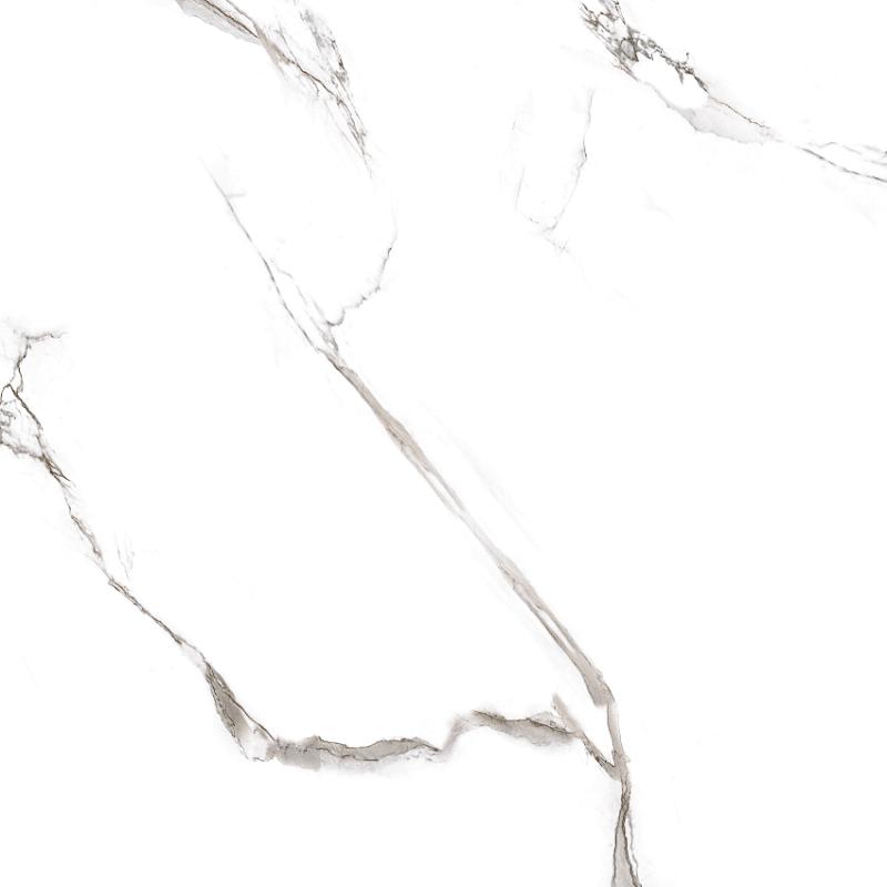Керамогранит 400х400х9 мм Classic Marble белый глянцевый/Грасаро (9шт=1,44 кв.м)