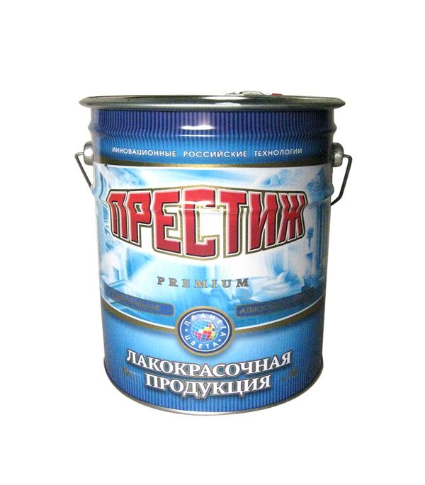 Эмаль для бетонных полов акриловая коричневая Престиж 10 кг
