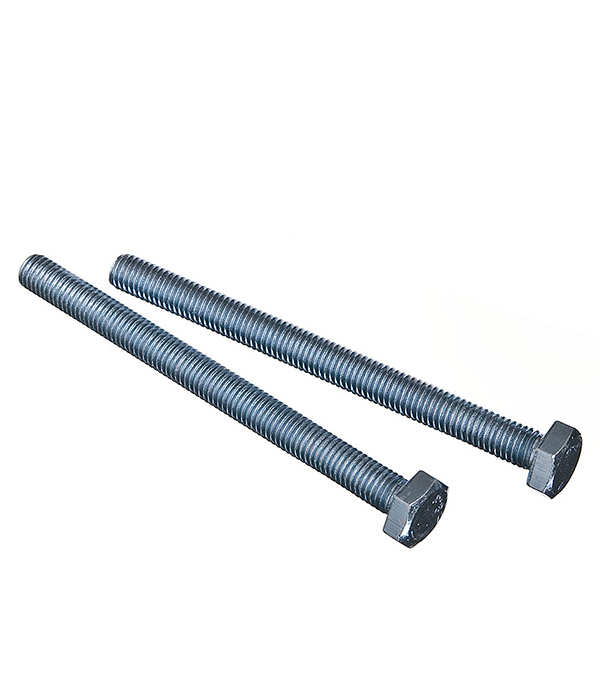 Болты оцинкованные М10х120 мм DIN 933 (2 шт) болты оцинкованные м12х80 мм din 933 10 шт