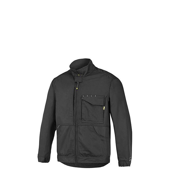 Куртка черная, размер M (48-50) , рост 170-182 Snickers workwear Профи
