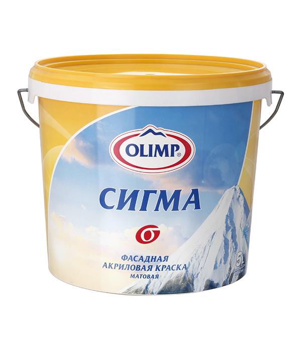 Краска в/д фасадная Сигма  Olimp 5 л