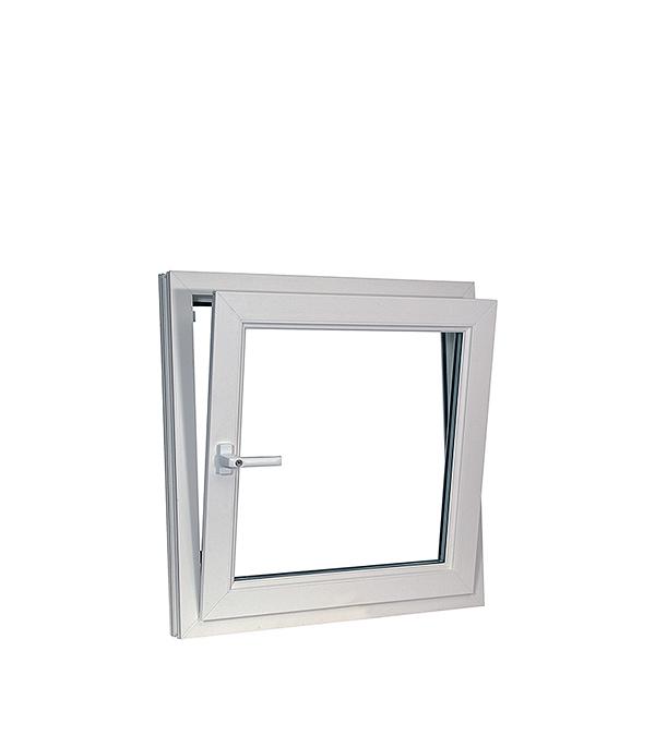 Окно металлопластиковое REHAU 600х600 мм белое откидное окно металлопластиковое rehau 1440х1160 мм белое 2 створки поворотно откидное правое поворотное