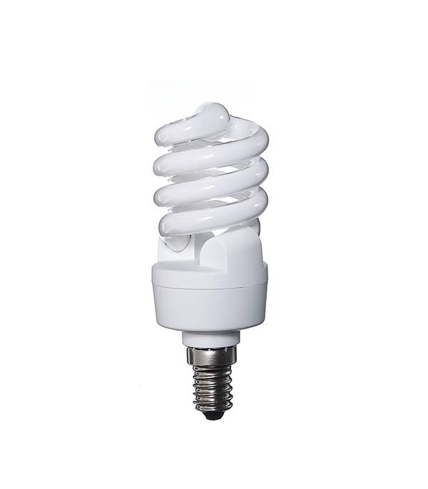 Лампа энергосберегающая E14, 12W, MiniTwist, 2700K (теплый свет), Osram