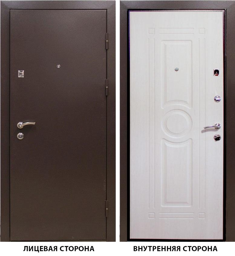 Дверь металлическая   Тонус 300  860x2050 мм  правая