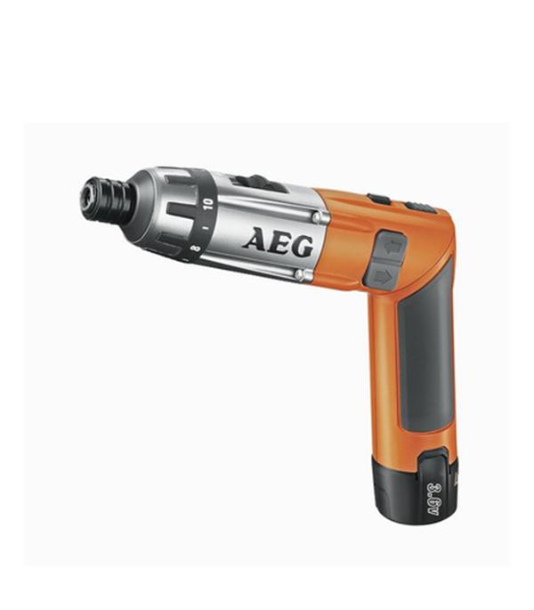 Отвертка аккумуляторная AEG SE 3.6 Li 3,6 В 1.5 Ач 6.5 Нм Li-Ion аккумуляторная отвертка aeg se 3 6 li