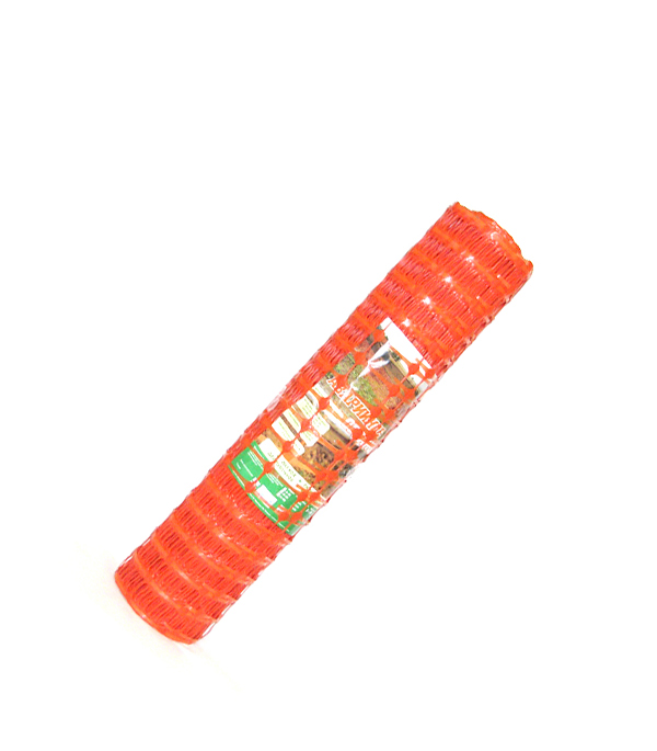 Сетка для аварийного ограждения ячейка 45х90 мм рулон 1х50 м