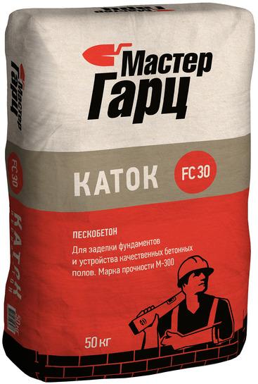 Пескобетон М-300 Каток Мастер Гарц, 50 кг