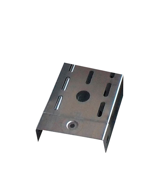 Лоток металлический перфорированный  50х50 мм 3 м ДКС