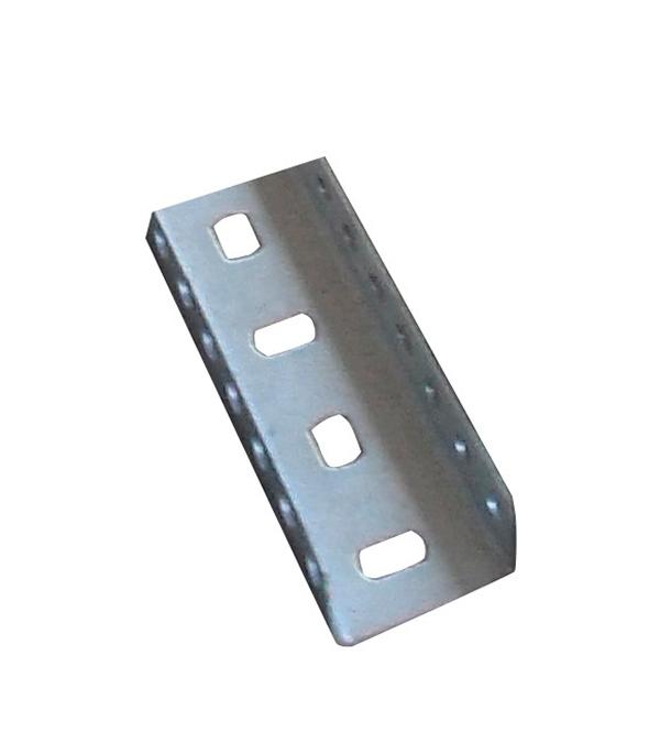 Профиль для монтажа металлических лотков ДКС П-образный толщиной 1.5 мм 3 м лоток металлический перфорированный 300х50 мм 3 м дкс