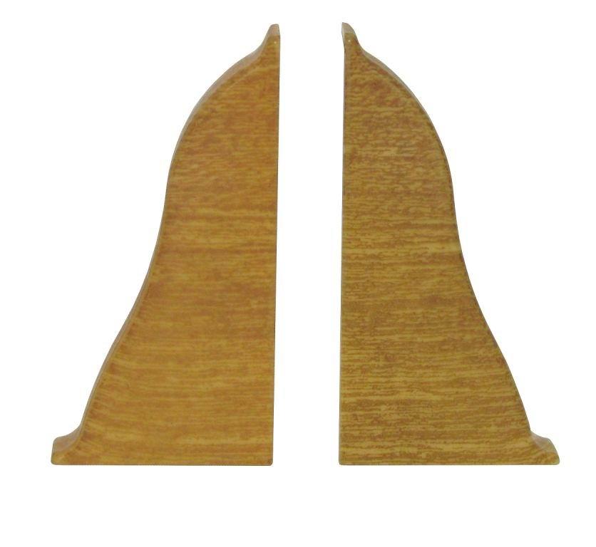 Заглушки торцевые (левая+правая), 255 ольха желтая