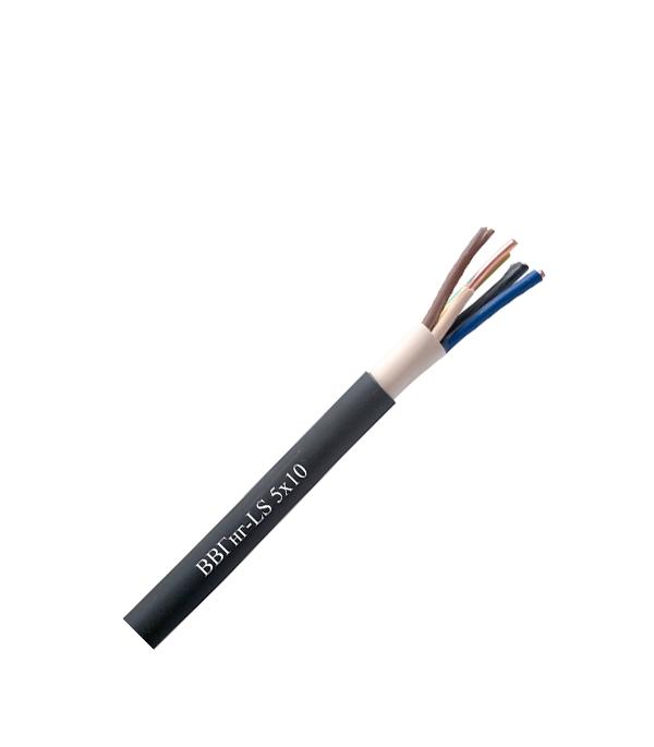 Кабель ВВГнг-LS 5х10  кабель ввгнг ls 5х10 100 м