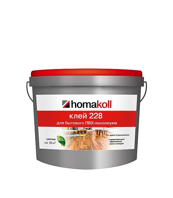 Клей для напольных покрытий Homakoll 228 7 кг