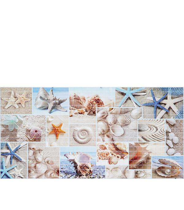 Панель ПВХ Мозаика пляж 955х480 мм декоративные шумопоглощающие панели для стен