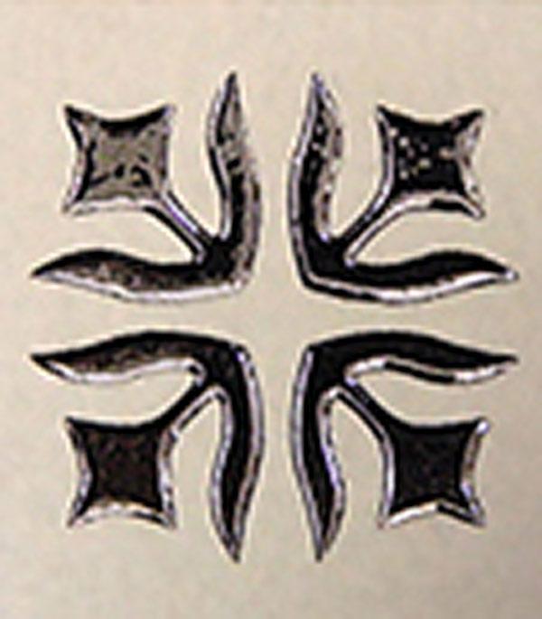 Керамогранит декор 60х60х10,5 мм Лимож бежевый/Керамика Будущего