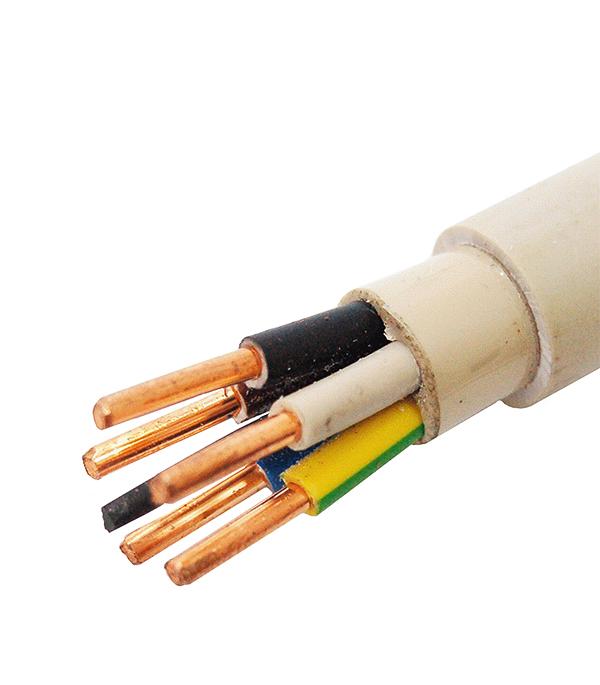 Кабель NYM нг-LS 5х4 Севкабель кабель электрический nym 3х1 5 50 метров