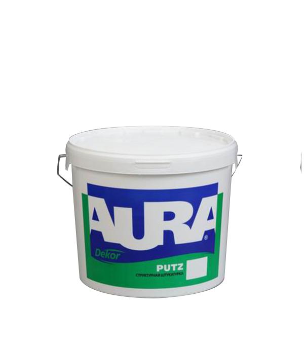 Структурная штукатурка Aura Putz шуба фракция 1.5 мм 25 кг