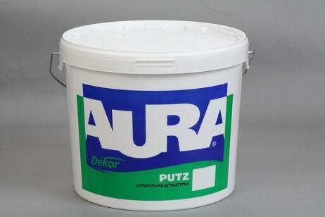 "Штукатурка структурная Aura Putz ""шуба"" фракция 1,5 мм 25 кг"