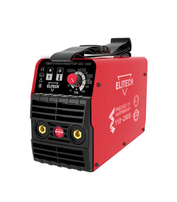 Сварочный аппарат (инвертор) ELITECH АИС 160Н, 275В, 160А, ПВ 80%, до 4,0 мм