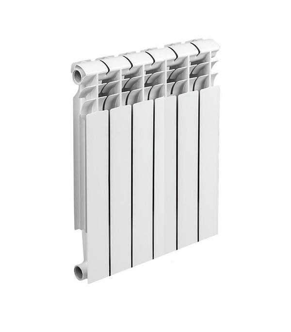 Радиатор биметаллический 1 500, 6 секций решетка радиатора т4 москва