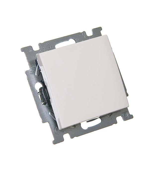 Механизм выключателя oдноклавишного с/у АВВ Basic 55 альпийский белый