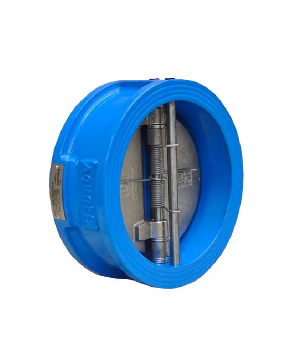 Клапан обратный межфланцевый AquaFix PN16 Ду80 серый чугун фильтр фланцевый aquafix pn16 ду80 магнитно сетчатый ковкий чугун