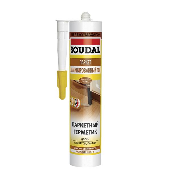 Герметик для паркета Soudal мербау 300 мл герметик силиконовый soudal нейтральный 300 мл бесцветный
