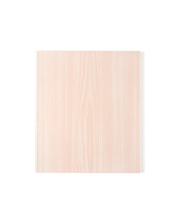Панель ПВХ белый ясень 250х2700х8 мм, Нордсайд