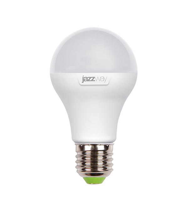 Лампа светодиодная E27, 12W, A60 (груша), 3000K (теплый свет), Jazzway