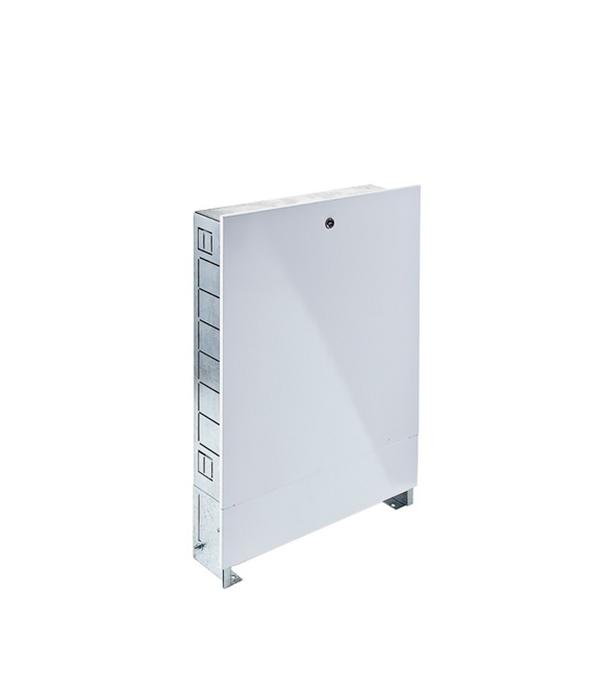 Коллекторный шкаф встраиваемый Valtec ШРВ1 коллекторная группа valtec 1 х 7 отводов с расходомерами нержавеющая сталь