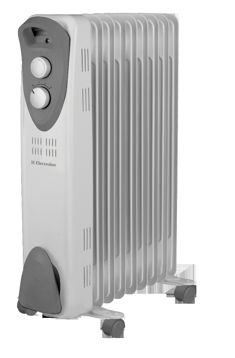 Радиатор масляный  2000 Вт, 9 секций, Electrolux